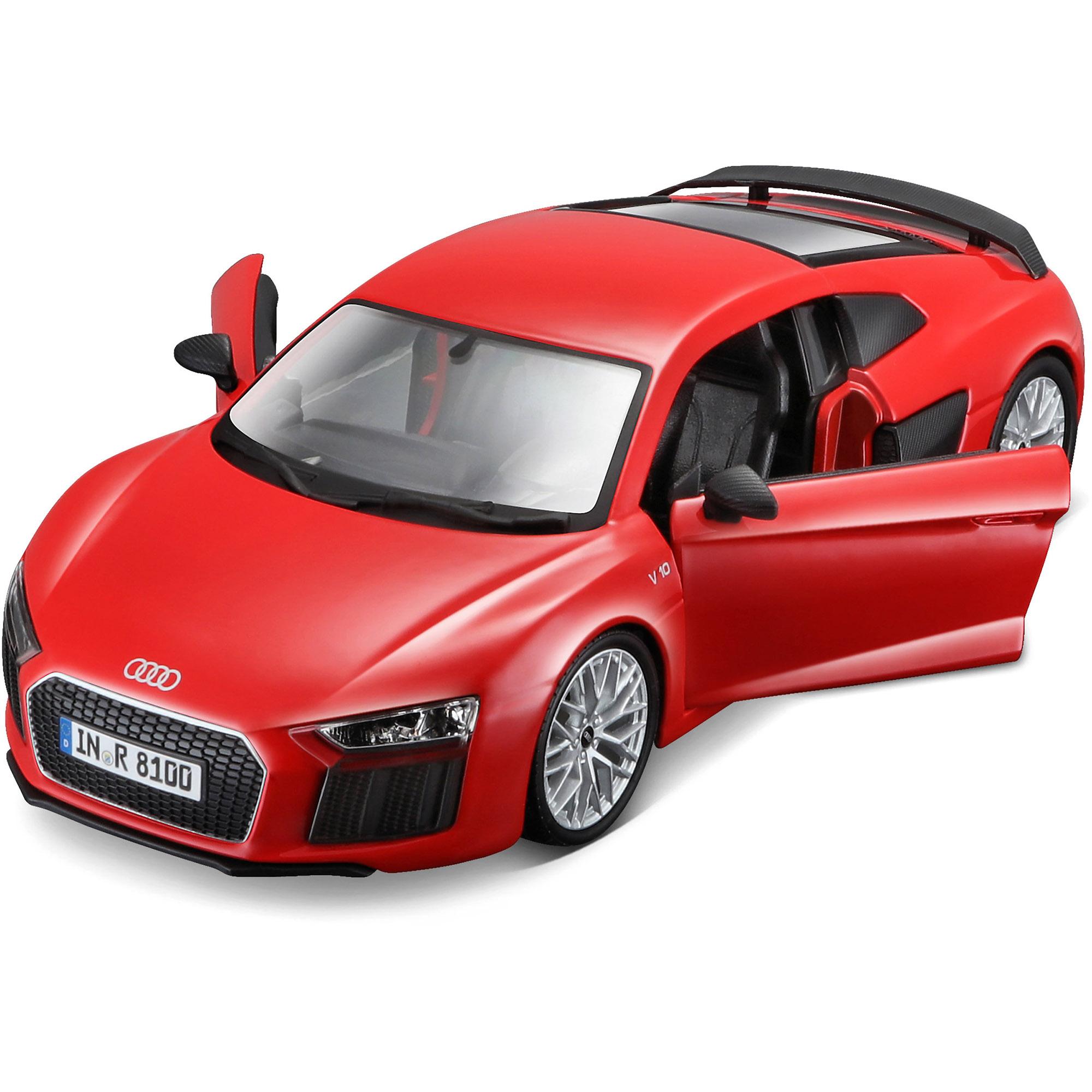 1//24 Audi R8 V10 Plus Red by Maisto